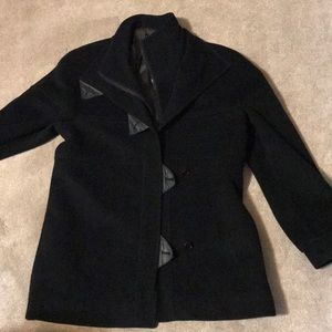 Jackets & Blazers - Henry white Dublin wool and cashmere coat